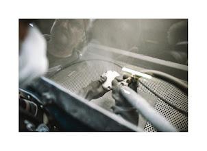 Photo: sablage moto AB décométal