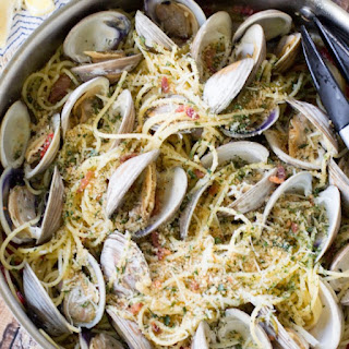 Clams Casino Pasta