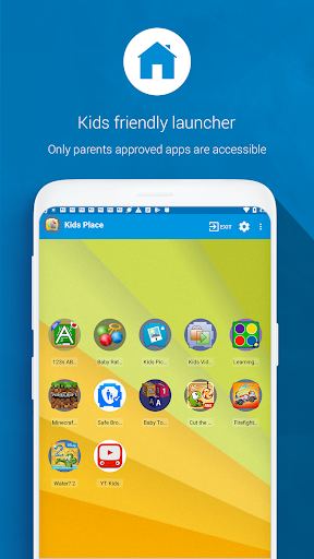 Kids Place - Parental Control 3.4.1 screenshots 1