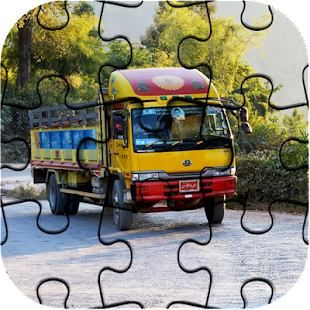 Big Trucks Jigsaw Puzzle Latest Game - náhled
