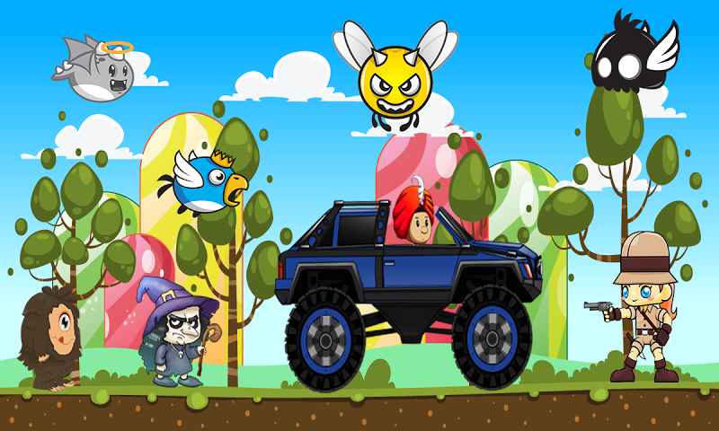 android Off-road Hill Climb Legends Screenshot 1
