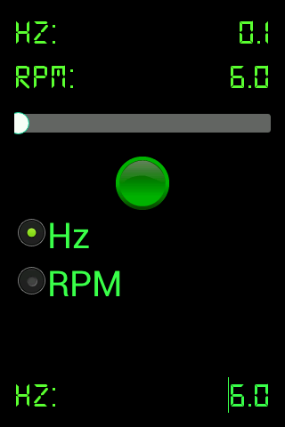 Strobo RPM Hz Light