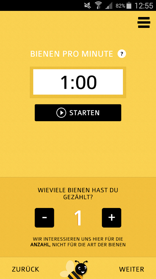 GLOBAL 2000 Bienen-Check- screenshot