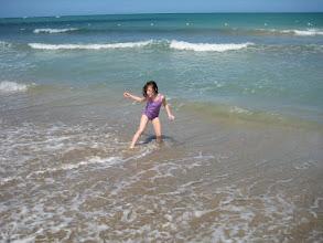 Photo: At the beach in San Juan