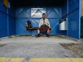 Photo: Tak schválně, zkuste si takhle sednout v něčem jiném než v www.kiltpocesku.cz, třeba v dámské sukni po kolena nebo ve Skotském kiltu.