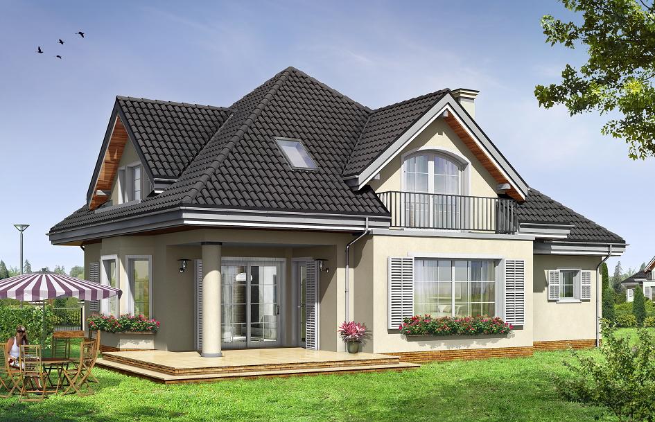 Проекты домов с мансардой. под крышей дома твоего..