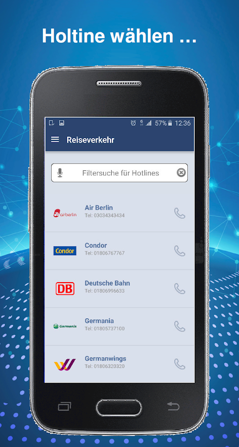 Call Butler – Screenshot