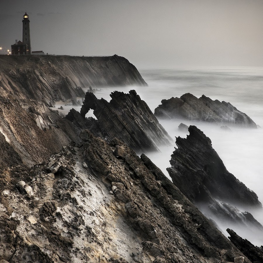 The Lighthouse by Joao Almeida - Landscapes Waterscapes ( long exposure canon 550d water portugal )