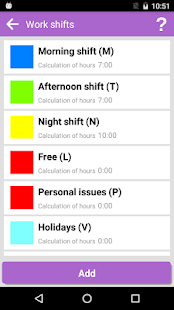 My Work Shifts- screenshot thumbnail