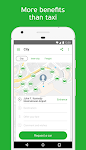 screenshot of inDriver — ride app where you offer your fare