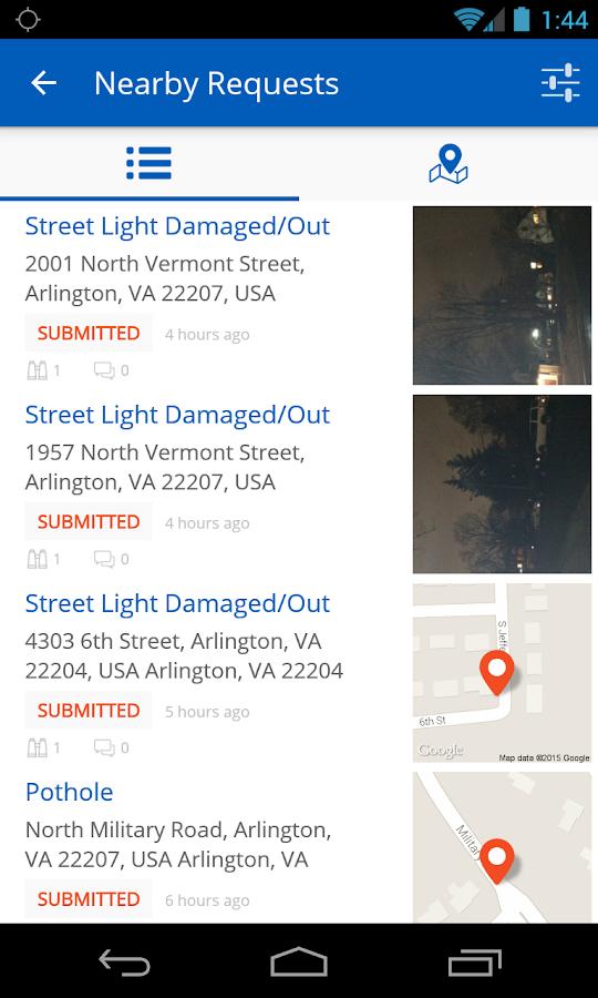 ArlingtonVA- screenshot