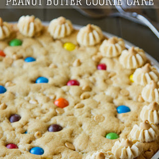 Peanut Butter Cookie Cake.
