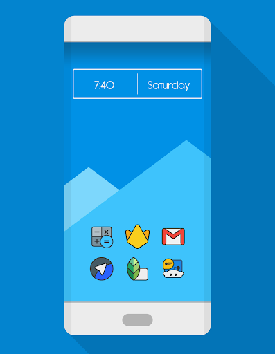 DARKMATTER - ICON PACK Aplicaciones para Android screenshot