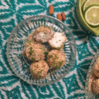Low-Carb Key Lime Cheesecake Balls Recipe