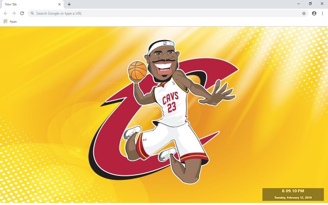 LeBron James New Tab & Wallpapers Collection