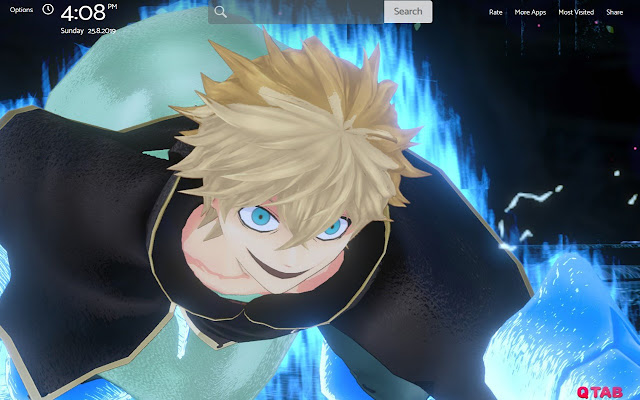 BLACK CLOVER Wallpapers New Tab Theme