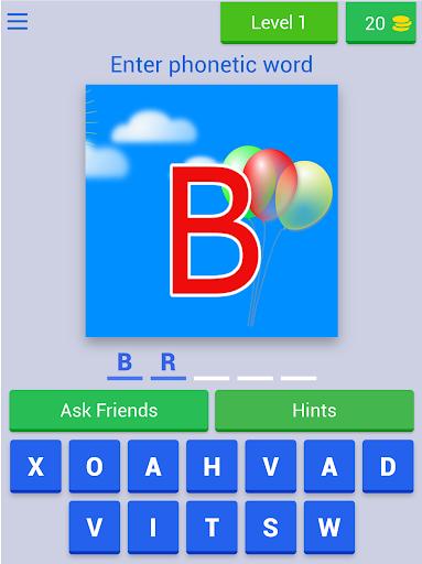 Phonetic Alphabet Quiz 7.2.3z screenshots 12