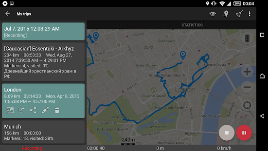 GeoTracker - GPS tracker- screenshot thumbnail
