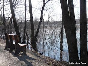 Photo: Bay Circuit Trail bench