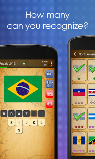 Picture Quiz: Country Flags apklade screenshots 2