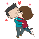 Kisses stickers for Whatsapp - WAStickerApps file APK Free for PC, smart TV Download