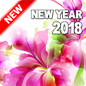 Happy New Year 2018 (Flowers)