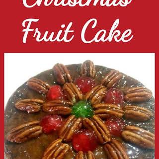 Christmas Fruit Cake.