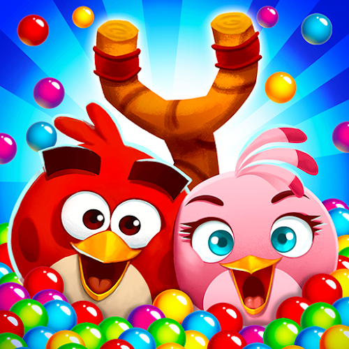 Angry Birds POP Bubble Shooter  [Mod Money] 3.84.4 mod