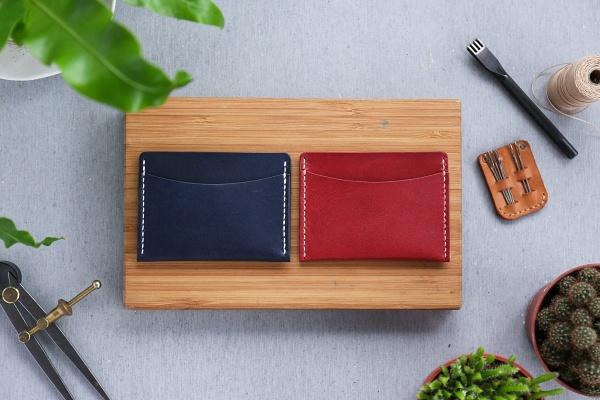 台北約會行程-手縫皮夾- shekinah