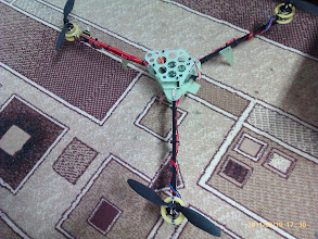 Photo: Finally, the finished tricopter.
