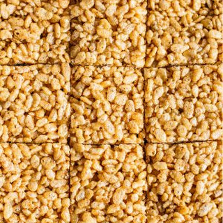 Honey Almond Butter Rice Crispy Bars.