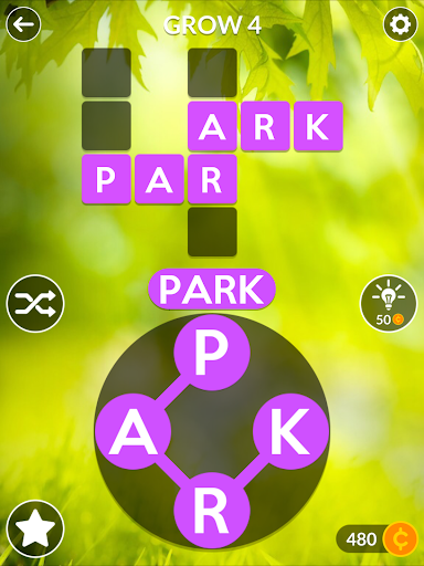 Wordscapes - screenshot