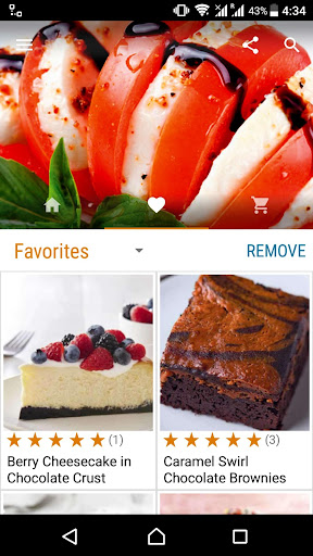 Cake and Baking Recipes Screenshot