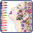 🎨 Mandala coloring book for adults icon