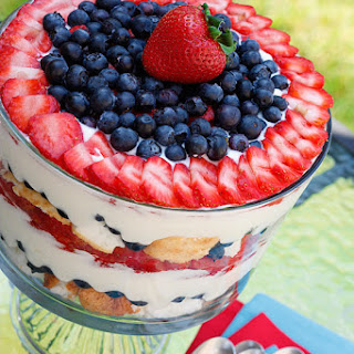 Strawberry Blueberry Angel Food Trifle Recipes