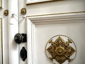 Photo: oldalkápolna ajtaja