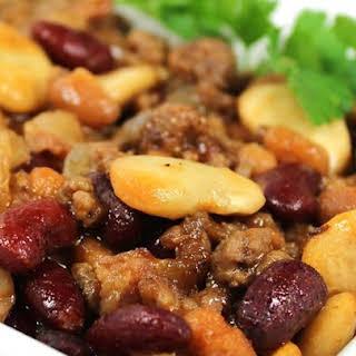 Calico Bean Casserole.