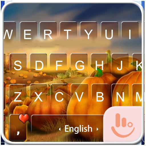Pumpkin Field Keyboard Theme 個人化 App LOGO-硬是要APP