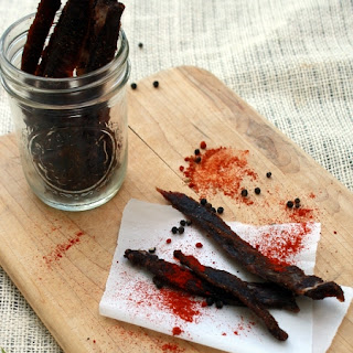 Spicy Sweet Mole Jerky.