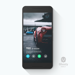 Ghosty KWGT 1.1.5 Mod APK Updated 3