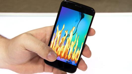 Fire Screen Torch - Prank screenshot 2