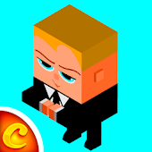 Boss Baby Blocky Race