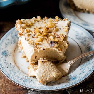 Easy Creamy Maple Nut Pie.