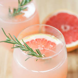 Grapefruit and Rosemary Mocktail.