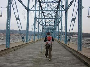 Photo: Walnut Street Pedestrian Bridge