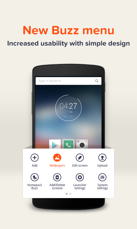 Buzz Launcher- screenshot
