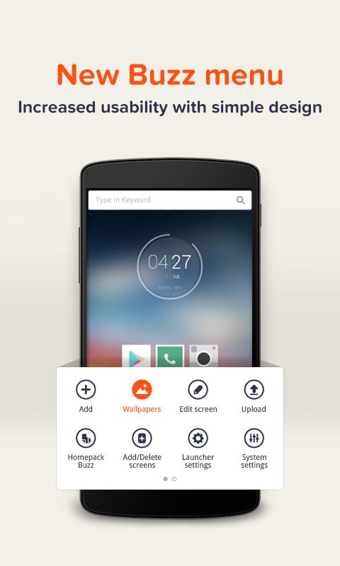 Buzz Launcher-Smart&Free Theme screenshot #1