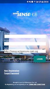 WMSenseHub - náhled