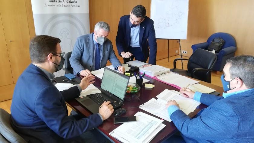 Reunión del comité territorial de Alerta de Salud Pública de Alto Impacto.