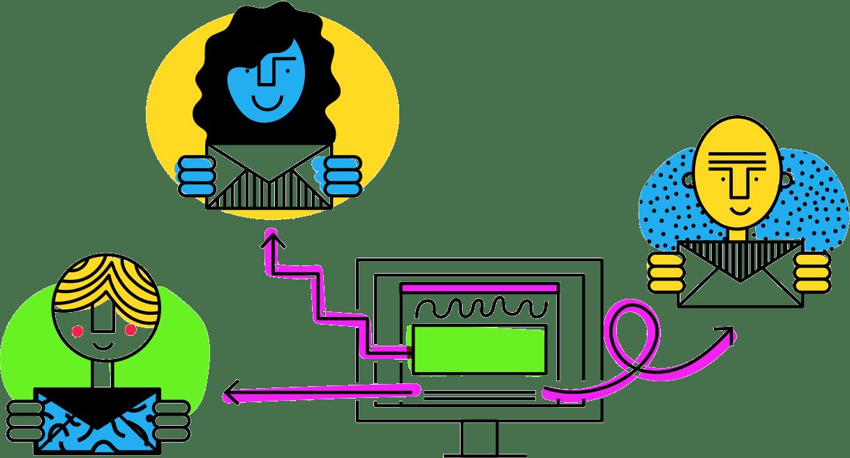Drip Illustration Personalization